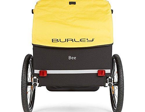 Burley Fahrrad Kinder Anhänger BEE Gelb faltbar 2 Sitzer Flex Connector, 946203 - 3