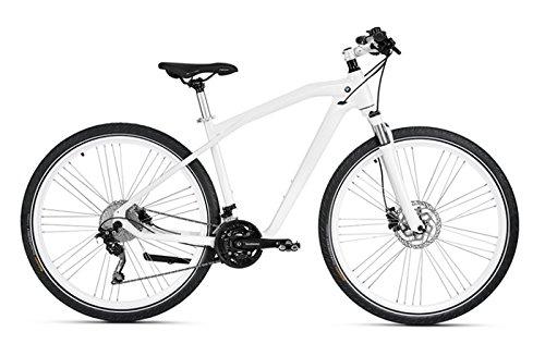 Original BMW Cruise Bike/ Fahrrad in Mineral White / Silver - Größe M