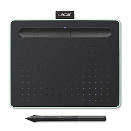 Bt Kinder-overalls (Wacom Intuos S pistazie Stift-Tablett - Mobiles Zeichentablett zum Malen & Fotobearbeitung mit druckempfindlichem Stift & Bluetooth und 2 kostenlosen Softwaredownloads*- Kompatibel mit Windows & Mac)