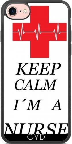 SilikonHülle für Iphone 7 / Iphone 8 - Krankenschwester Gesund Arzt by WonderfulDreamPicture (Krankenschwestern Scrub)