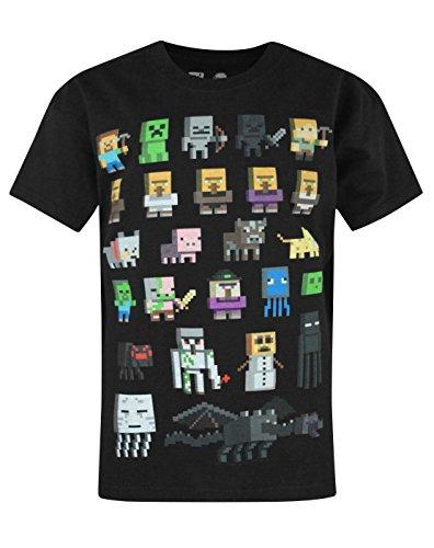 Niño - Minecraft - Minecraft - Camiseta (9-10 Años)