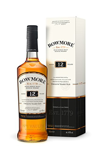 Bowmore Islay Single Malt Scotch Whisky 12 Jahre (1 x 0.7 l)