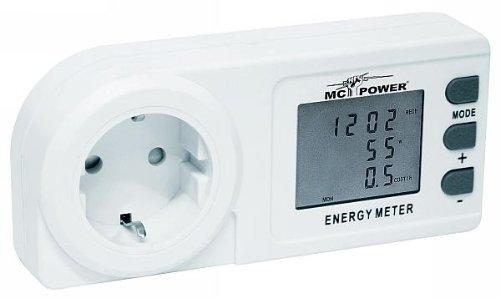 Energie-Messgerät Energiekosten Erfassung 230V/50Hz 13A max. McPower EM-300