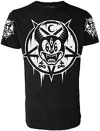 Mickey 666echtem Darkside Herren T Shirt geheimnisvollen Nu Goth satanischen Gothic alternative Disney Kleidung