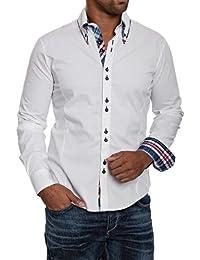 Carisma Chemise à manches longues - en plusieurs couleurs - Homme, blanc, XL