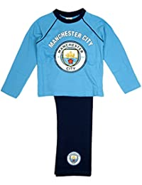 Boys Official Manchester City 1894 Football Man City FC Pyjamas sizes from 4 to 12 Years