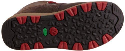 Timberland  GT Scramble FTK_EK GT Scramble WP Leather Mid, Chukka garçon Marron - Braun (Dark Brown with Red)