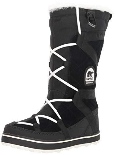 Sorel Damen Glacy Explorer Stiefel, schwarz, Größe: 39 (Snow Womens Sorel)