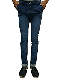 Slim Fit Men`s Jeans Mark (used For Party Wear,Casual Wear) Comfort Inside,Latest Trendy Jeans For Men And Boys...