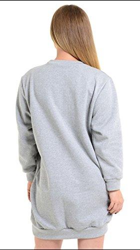 S&M - Sweat-shirt - Femme Gris