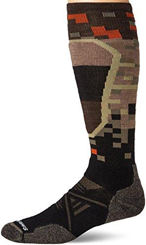 Smartwool Herren Socken PHD MD Ptrn Ski Socken XL schwarz (Smartwool Ski-socken-xl)