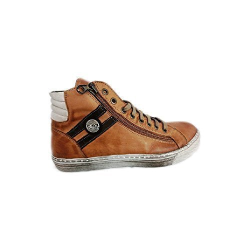 Scarpe sneaker uomo Exton made in italy an68 Taupe (41)