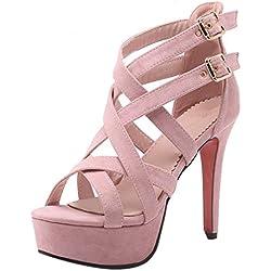 YE Damen Offene Party Schuhe