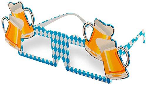Folat 20959 - Brille Bierpulle (Bierkrug Erwachsenen Kostüme)