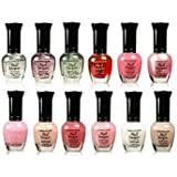 Kleancolor Collection- full size French Manicure Nail Polish 12pc Set