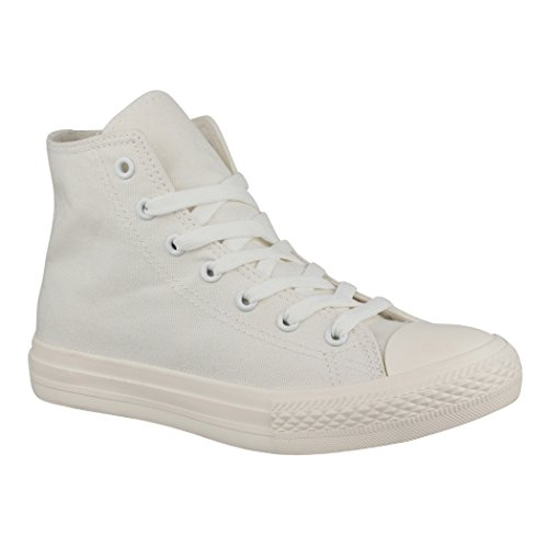 Elara Sneaker Donna Weiß one colour