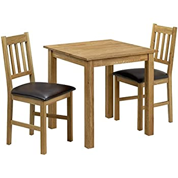 Berlin Solidwood Furniture  Seater Dining Table Chair Set with