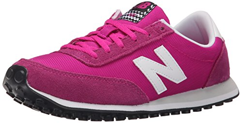 New Balance Damen ML_WL410V1 Sneakers, Pink (Pink/White), 36 - Lässig Schuhe New Balance Womens