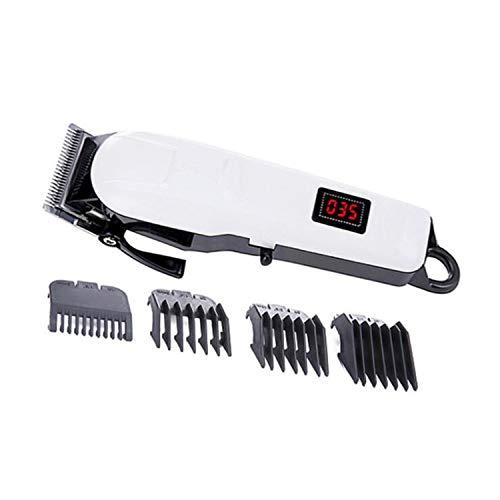 BABIFIS Salon de Coiffure Tondeuse à Cheveux électrique LCD Écran de Charge Tondeuse à Cheveux électrique Acier Inoxydable Tête de Couteau