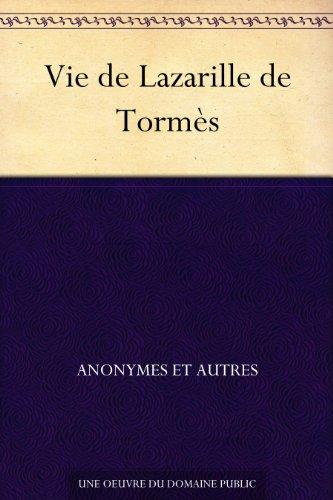 Couverture du livre Vie de Lazarille de Tormès