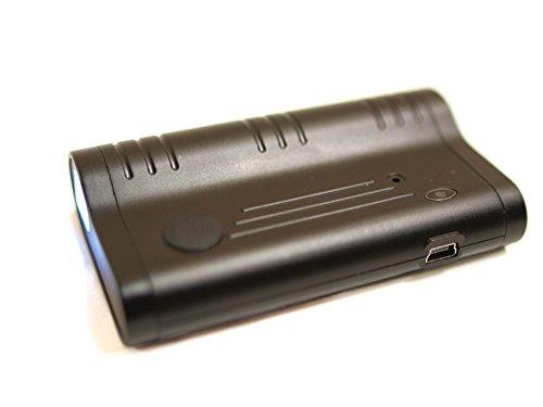 Digitales Diktiergerät, Abhörgerät, Audio-Wanze und Taschenlampe in Einem. Laufzeit bis zu 2 Monate, mit Magnethalter, vielfältige Einstellmöglichkeiten