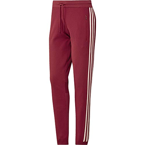 adidas Damen W ID Knit Pant Sport Trousers, Active Maroon, M (Adidas Knit Pants)