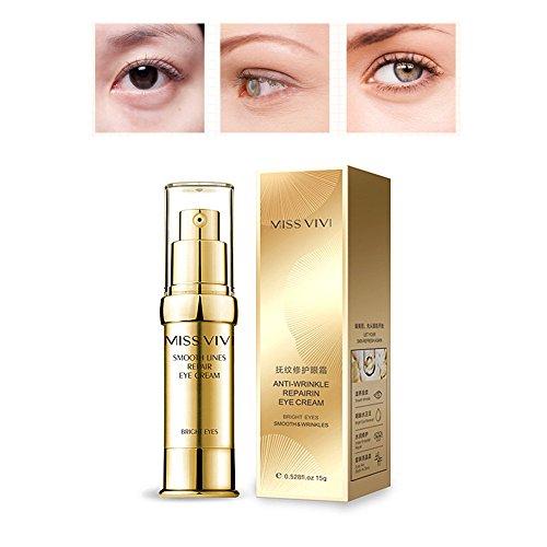 Crema anti-age per gli occhi - rassodamento istantaneo e riduzione a lungo termine delle rughe, borse, gonfiori e occhiaie naturale sotto la pelle cura degli occhi giorno notte essenza