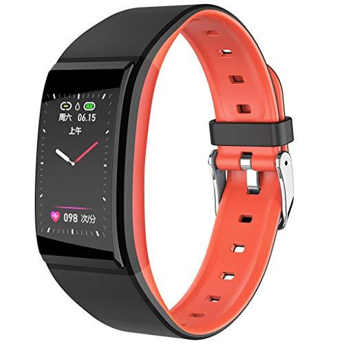 rmband Armbanduhr Fitness Smart Watch Sport Tracker Herzfrequenz-Blutdruck-Überwachungsuhr ()