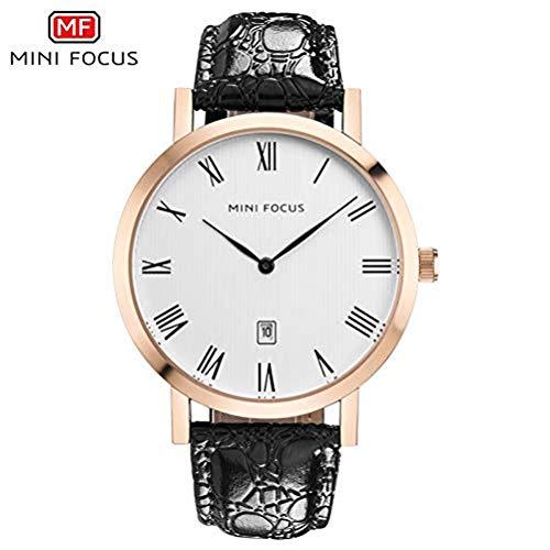 xisnhis schöne Uhren Mini - fokus / mf0108g männer Quarz auf gürtel Datum Zwei stück Wasserdichte Uhr