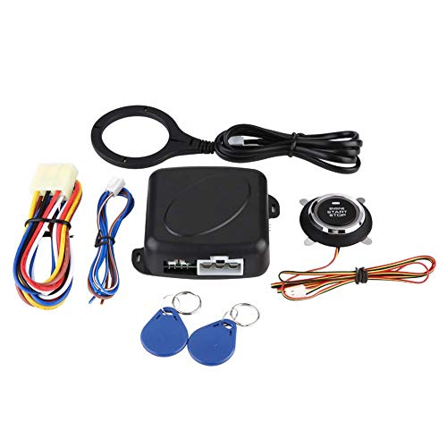 Universal 12V Lock Starter Alarm Auto Ein-Schlüssel-Start-Änderungssystem - Verlust Starter Kit