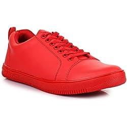 Carrito Men's Sneakers Red 8