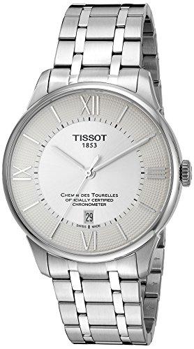Tissot Homme 'T-classic' Swiss automatique en acier inoxydable montre de robe, couleur: Les LED Offrent (modèle: T0994081103800)