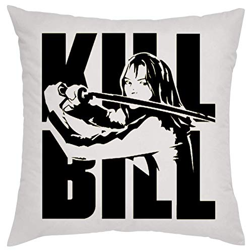 Kill Bill Posing Cuscino Pillow