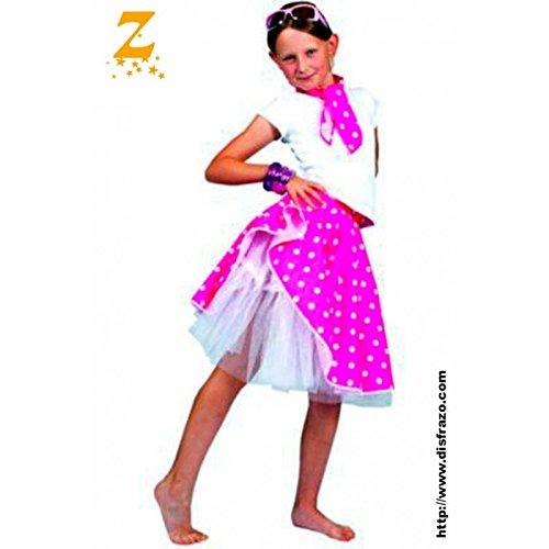 egenheiten FF740846 Sock Hop Rock Kind Rosa Pfingstmontag ()