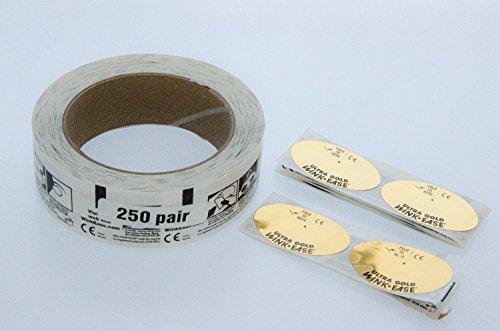 Augenzwinkern-Leichtigkeit Einweg- Solarium Brille Bräunungs Rolle (250 Paar)