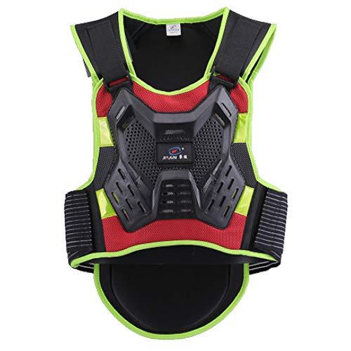 BUG-L Motorrad-Rüstung Bekleidung, Offroad-Fahren Racing-Rüstung Bruchsicher Schutzausrüstung Rüstung Abnehmbar