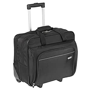 Targus TBR003EU Executive Laptop Roller Bag on Wheels Fits Laptops, 15-16 Inches - Black