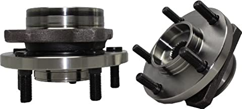 Brand New (Both) Front Wheel Hub and Bearing Assembly Caravan, Grand Caravan, Voyager, Grand Voyager 5 Lug 15, 16:, 17 Tires (Pair) 513123 x2 by Detroit Axle