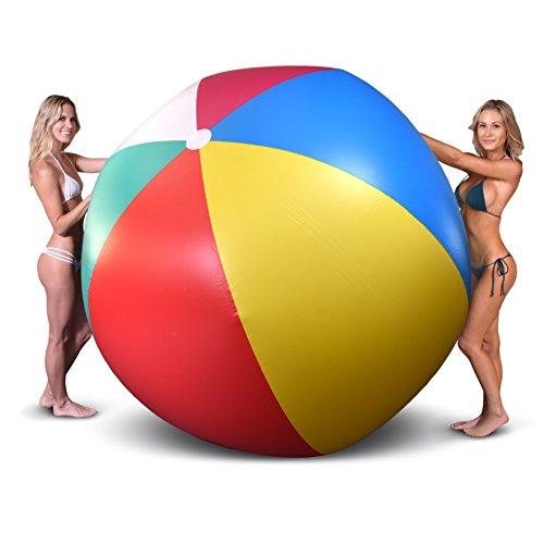 GoFloats Riesige aufblasbare Beach Ball, 6'