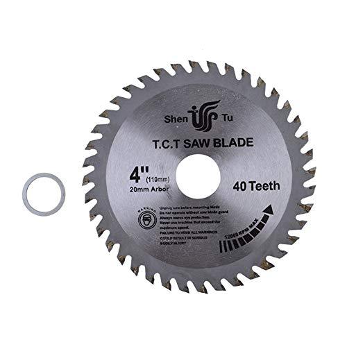 LiYL 4/6/7/8/9 / 10inch Holzschneiden Metall Kreissägeblätter for Fliesen Keramik Holz Aluminium Disc Diamantschneidklingen (Outer Diameters : 6 inch 40 Teeth) -