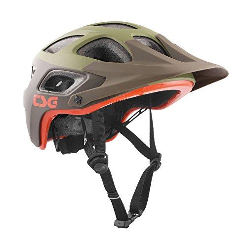 TSG Erwachsene Seek Graphic Design Helm, Block Army Moss, L/XL