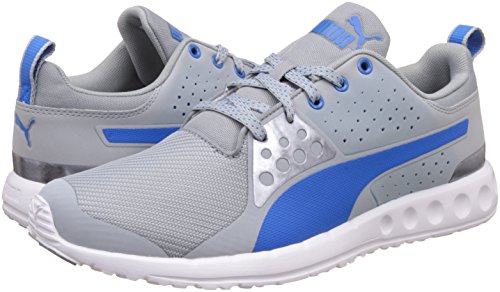 ... Puma Men's Valor Mesh Quarry and Electric Blue Lemonade Running Shoes -  10 UK/India ...