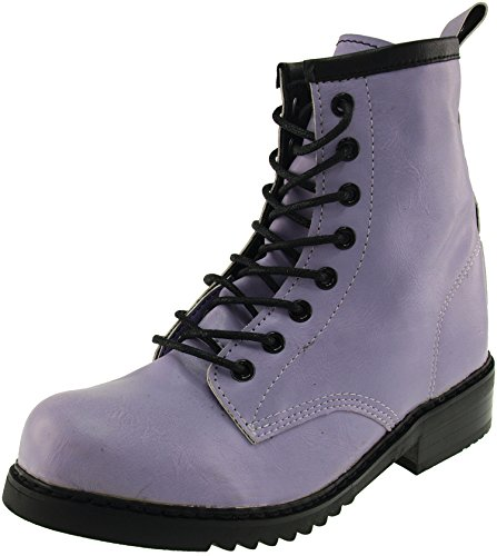 Maxstar  303-Walker, Chaussons montants femme Violet - violet
