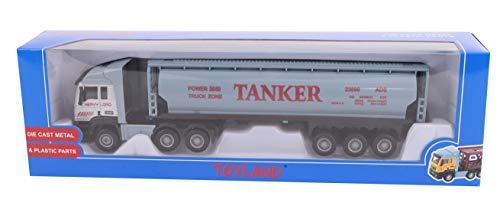 Toyland® 28cm Spielzeug LKW & Anhänger - Diecast - Modellspielzeug & Fahrzeuge - Verschiedene Designs (Tankwagen) (Tankwagen Spielzeug-lkw)