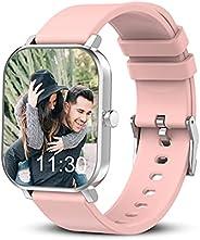 "Smartwatch, Smartwatch Uomo Donna Orologio Fitness Tracker, touch screen 1,69"", frequenza cardiaca, monit"