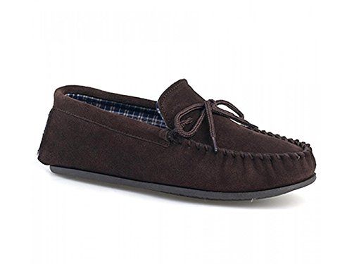 Dunlop , Mocassins pour homme Marron - Dk.brown