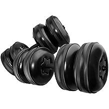Bulary Mancuernas Ajustables Llenas de Agua Peso de 25kg Mancuernas para Entrenamiento de Brazo y Musculación