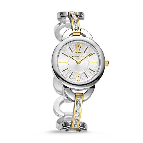 Rodania 24940-88 - Reloj para mujeres, correa de acero inoxidable