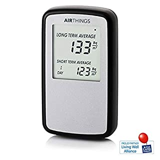 Corentium Home von AirThings, Radon-Gas-Detektor, Internationale Version in Bq-m