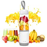 Mixer Smoothie Maker, Mini Standmixer, 350ML Tragbar Entsafter, Blender elektrisch, Ideal für Haushalt, Reise, Outdoor